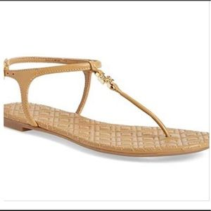 Tory Burch quilted Marion flat thong sandals